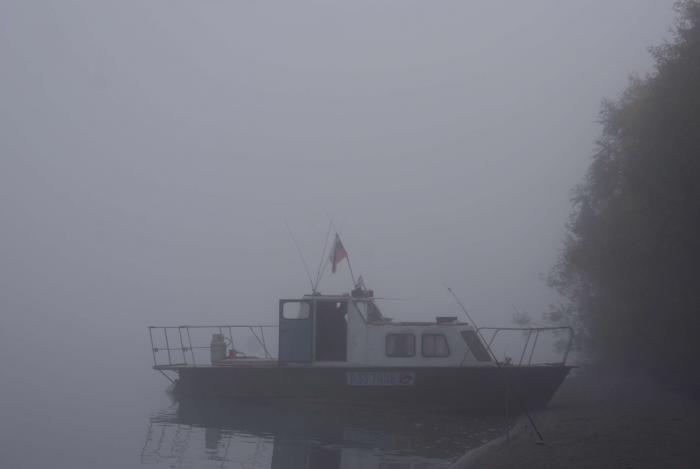 утро-туман-река Чаус