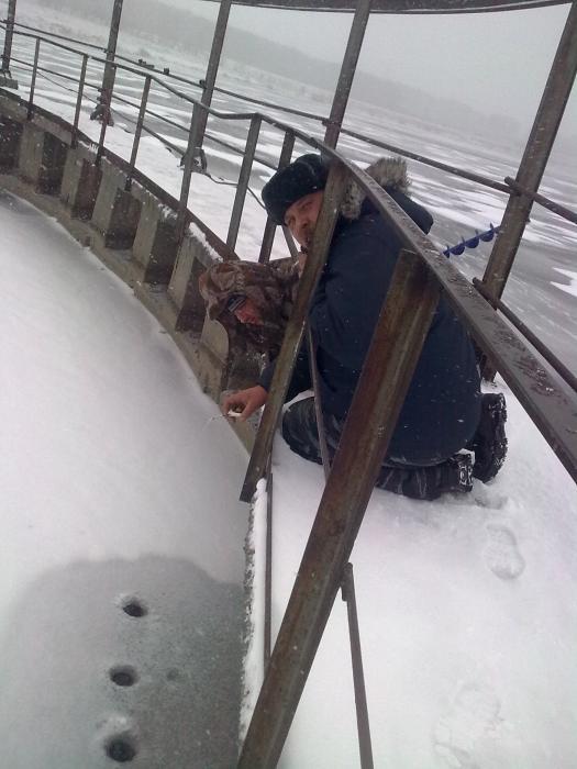 Cубботнее открытие зимней рыбалки!