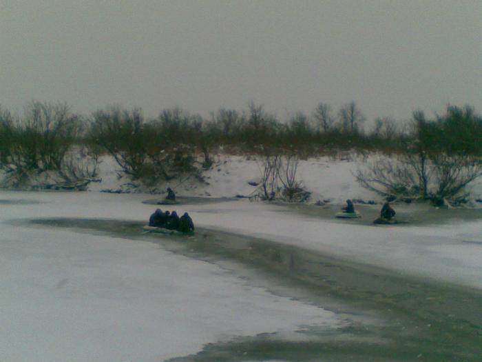 Ниндзя  на льду)))