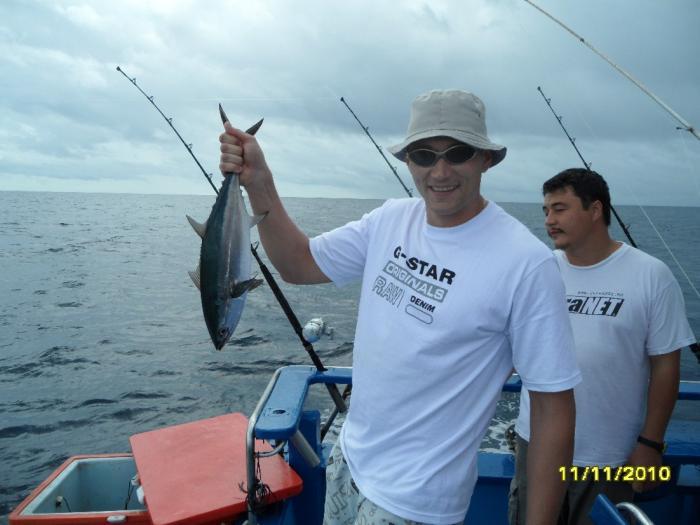 Мой первый тунец
