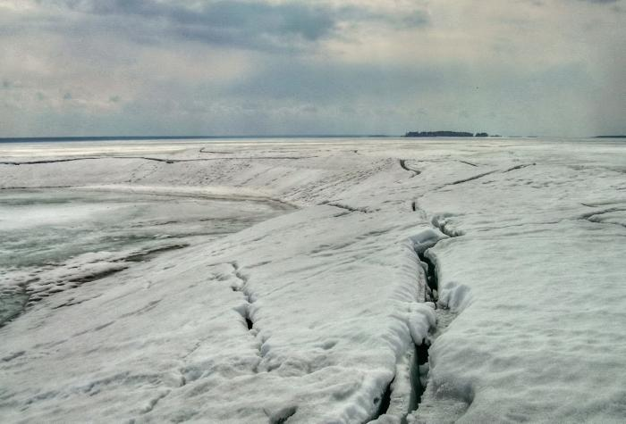 Обское море-Арктика. весна