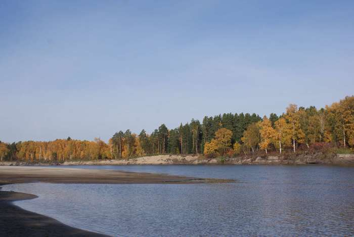 протока Симанская сентябрь 2010