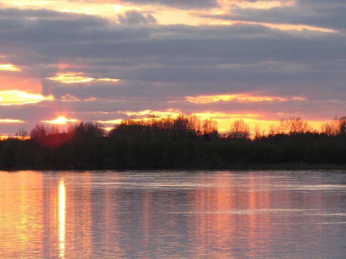 И прекрасна на закате!!!