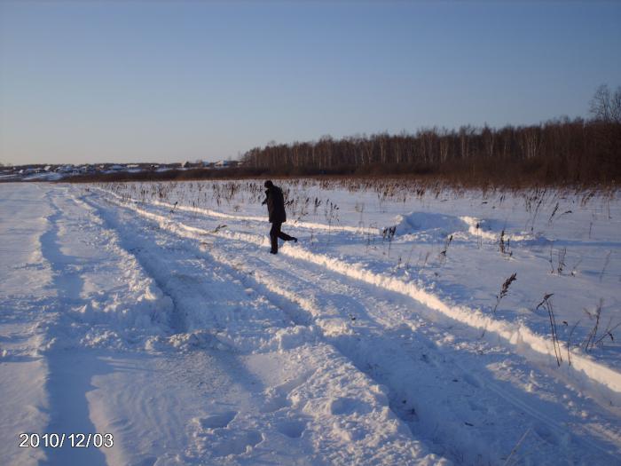А Я зиму люблю.......