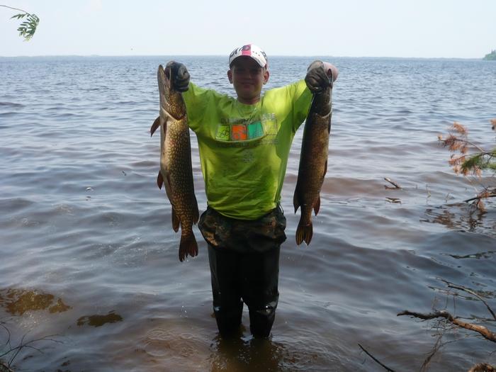 Рыбалка на озере Окуневое Томской области