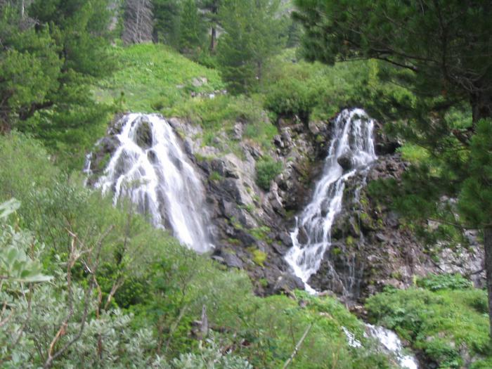 Емурлинский водопад. Горный Алтай.