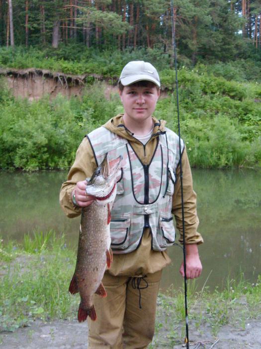 Трофейчик на день рыбака.
