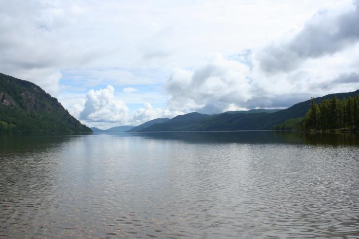 озера Тоджинской котловины