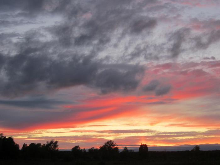 Феерия облаков