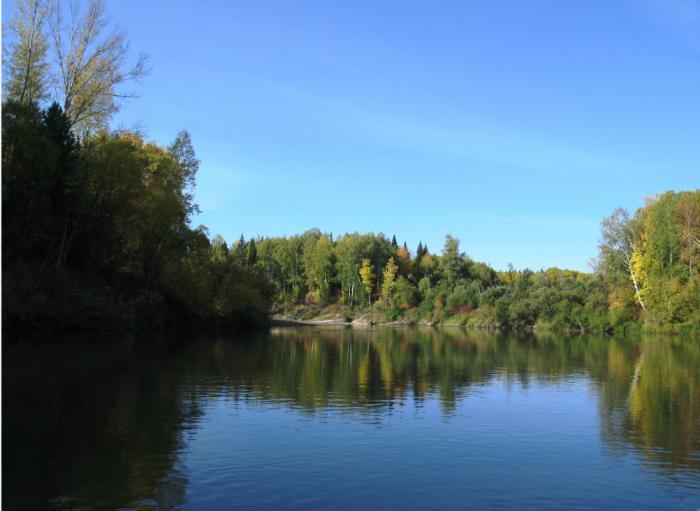 река в ТО
