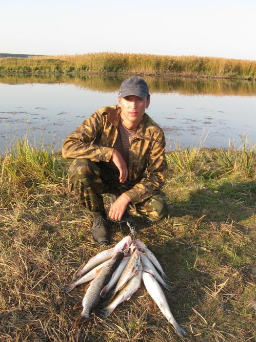 Верховья ОВХ, не фонтан конечно, но и без рыбы не остались:)