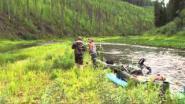 Видеоотчет о сплаве по реке Сухой Пит в Красноярском крае июль 2011.
