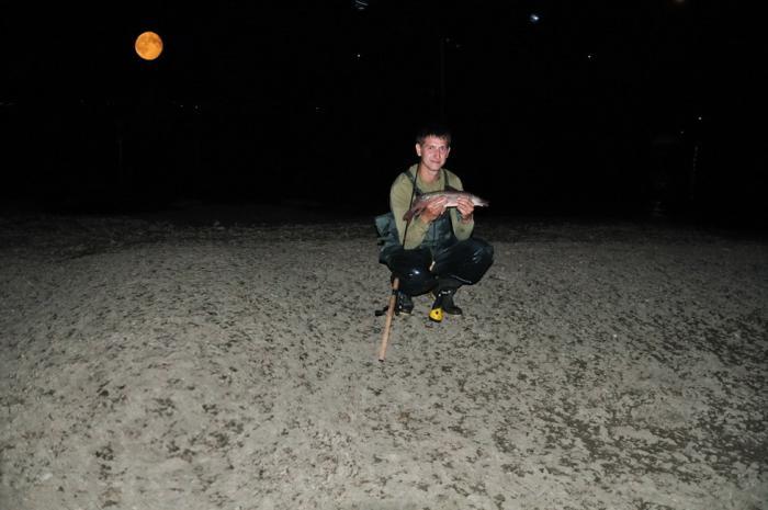 Лунный пейзаж.