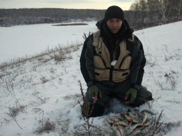 Сезон открыт, река 5 кг окуня)