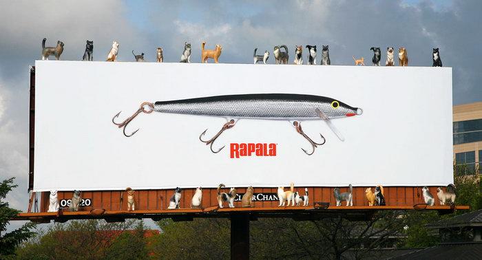 Реклама воблеров Рапала!)