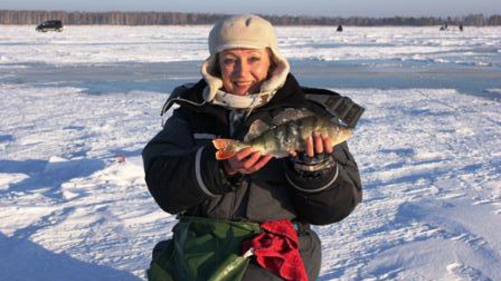 Зимняя рыбалка-тоже ничего!