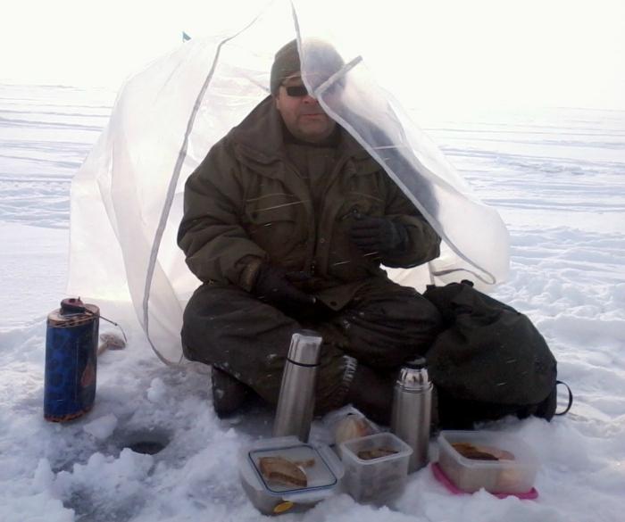 Колорийный обед - залог успешной рыбалки!