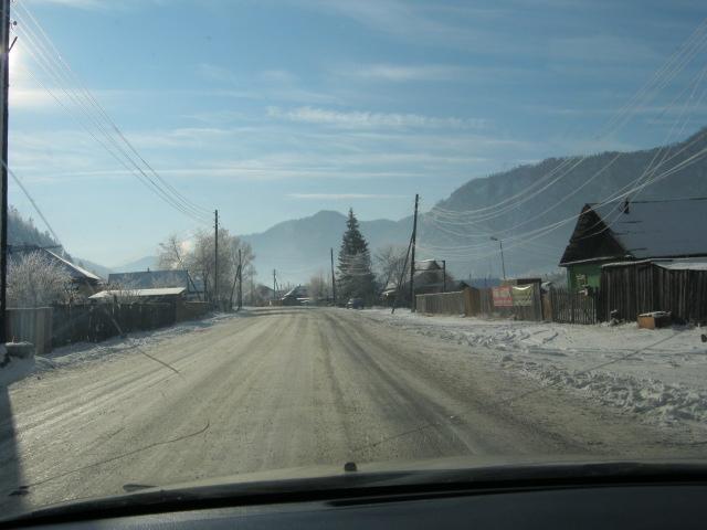 Горный Алтай. Чемал зимой