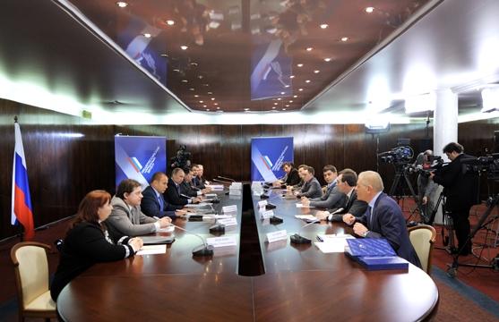 Путин провёл встречу с представителями любительского и спорт