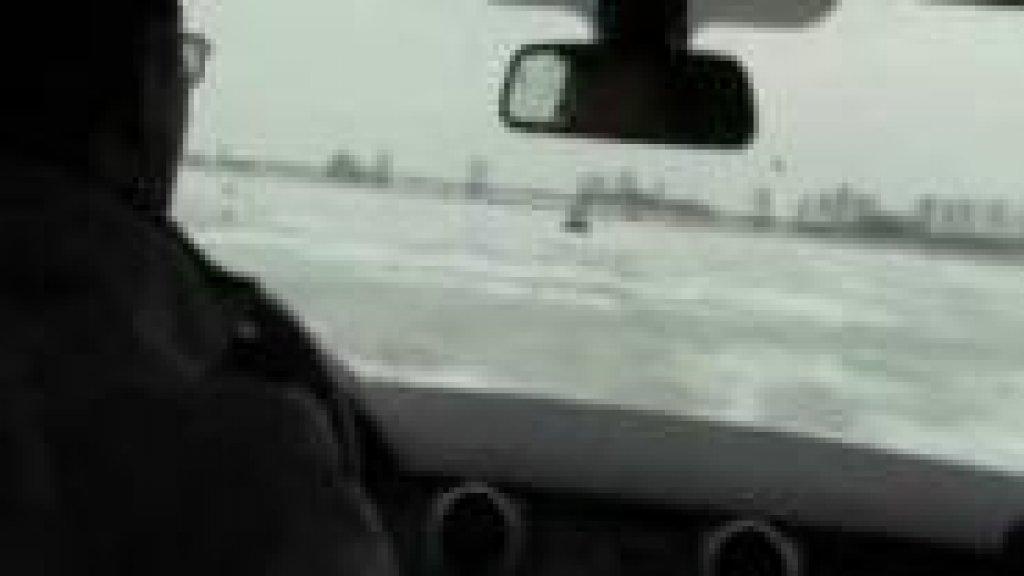 Тест-драйв Ровера по последнему льду