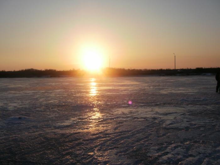 Закат над Койнихой.