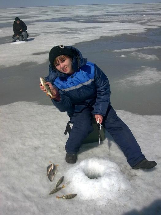 Жена первый раз на зимней