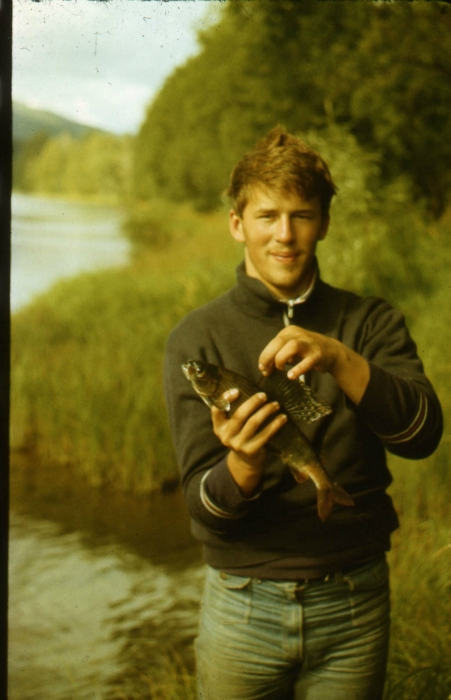 Река Амыл Красноярский край, я 20 лет назад ;-)