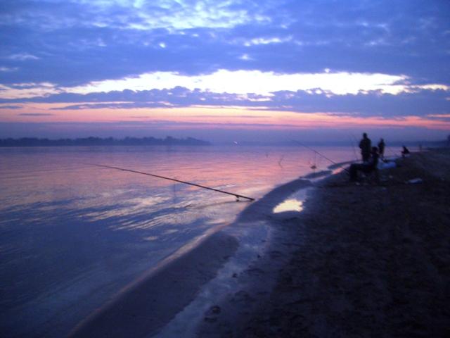 Рыбалка на Матвеевке