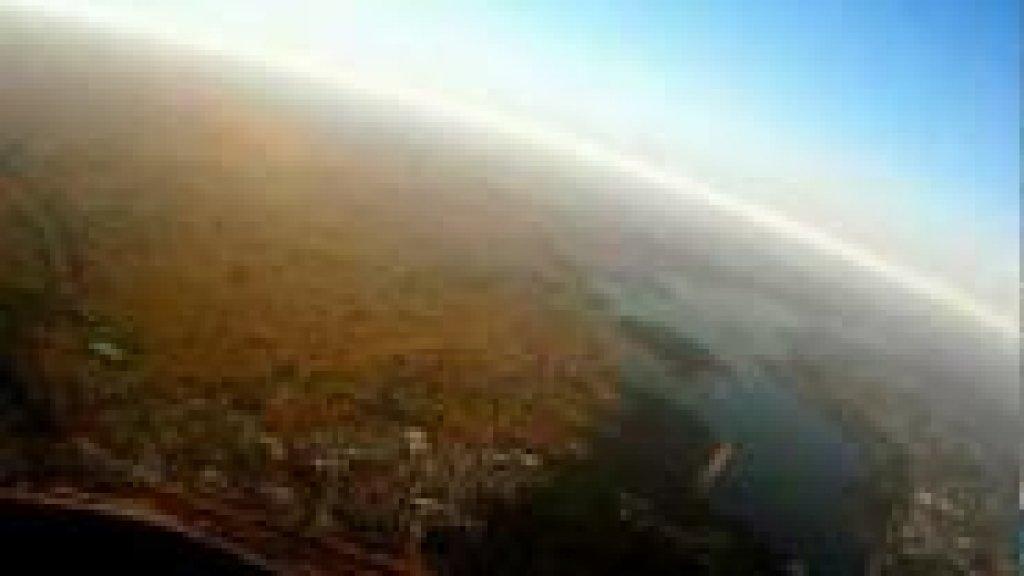 ГЭС с высоты птичьего полёта