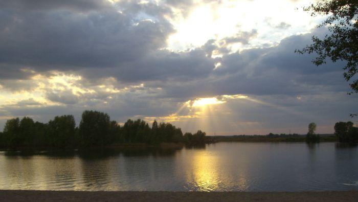 Озеро на Алтае