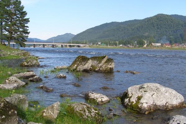 Река Бия начинается здесь