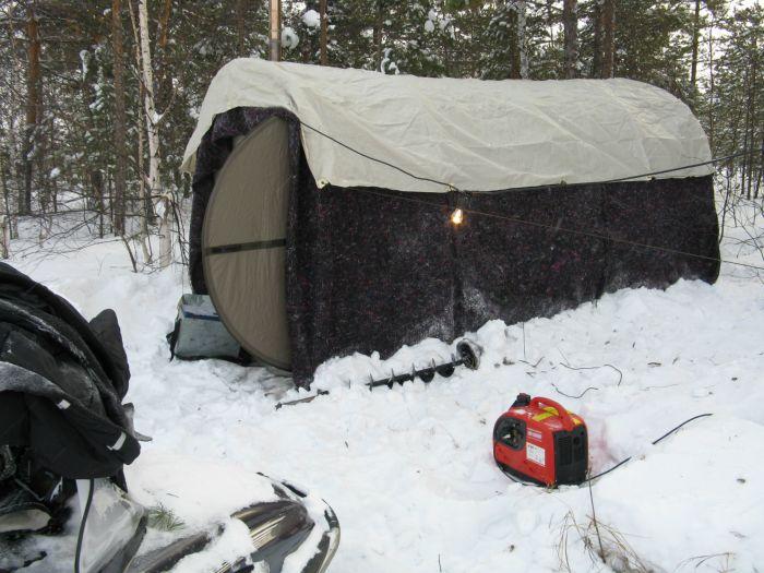 Мобильный лагерь Mobiba