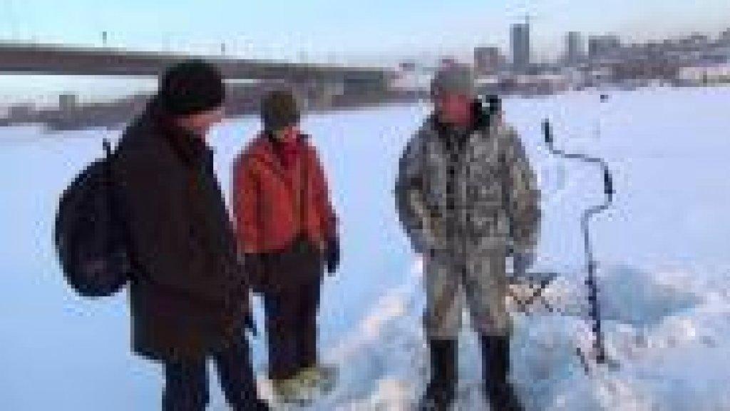 Зимняя рыбалка на Оби - Exlinguo (December 2012)
