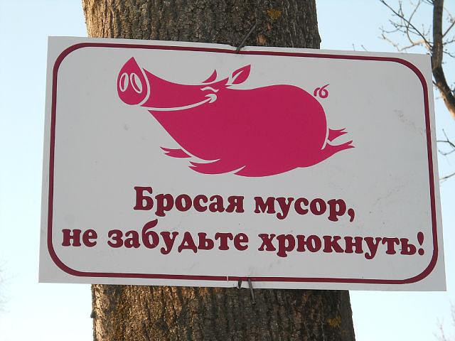 Надо у нас по всем берегам такое повешать!)))