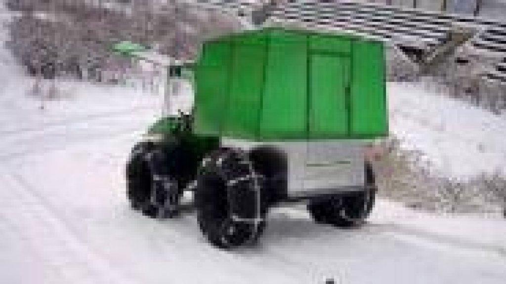 Вездеход с двигателем Ока 2