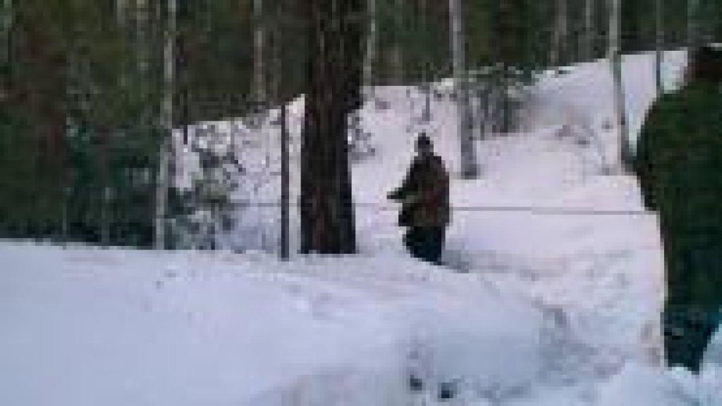 В гостях у снежного человека. 1 часть