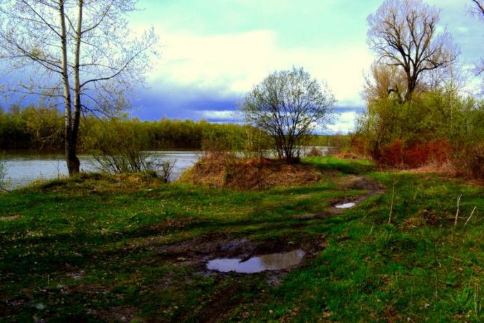 Протока Старобибеево.