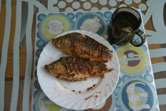Завтрак рыбака