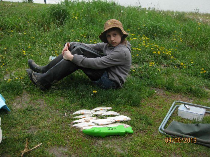 Рыбалка с Тенкарой.