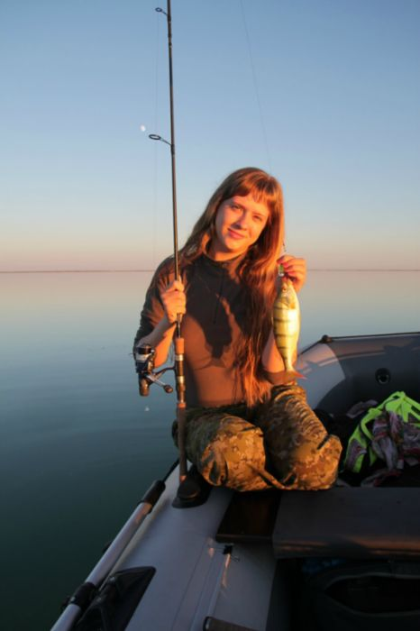 Ура, рыбалка! :-)