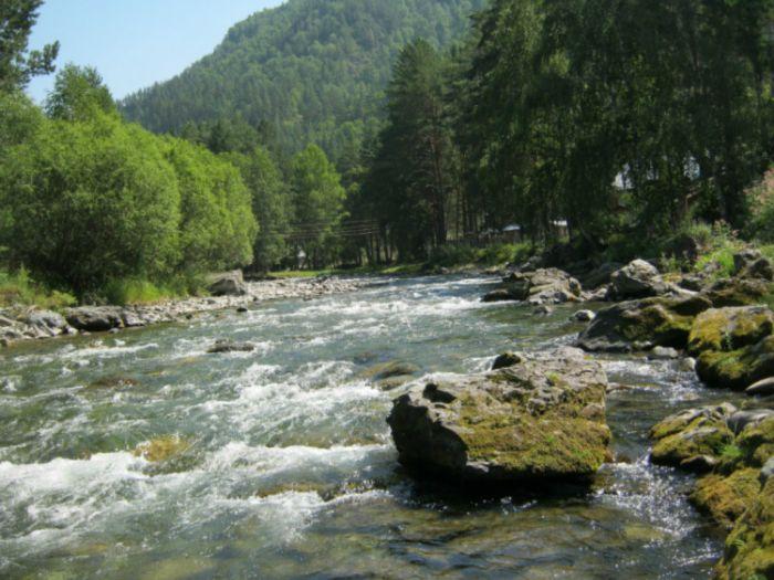 Горная река Чемалка