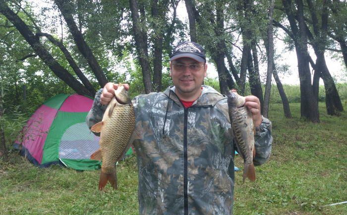 День рыбака начался позитивно!