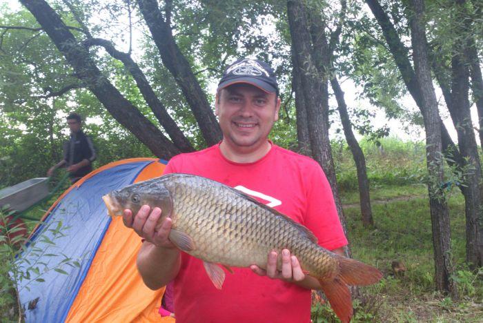 Привет Новосибирским землякам из Москвы, на день рыбака!