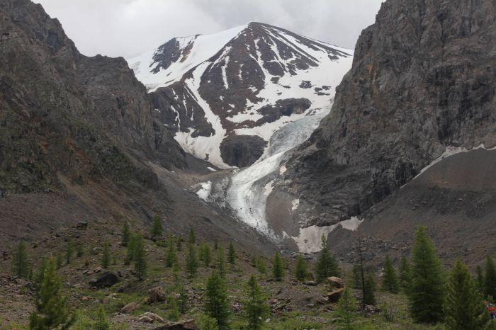 Горный Алтай - ледник Малый Актру