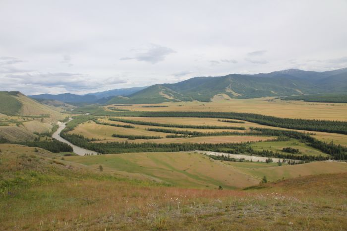 Горный Алтай - степь Самаха