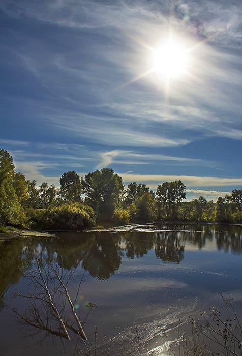 Река Чаус, район Скалы