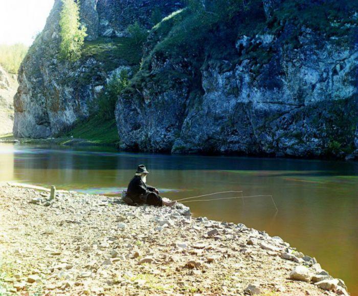 Гендальф на рыбалке!)))