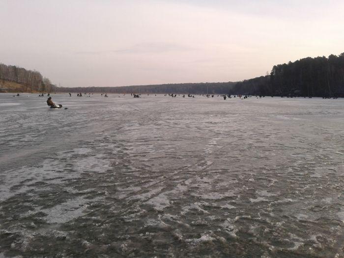 Ну вот и долгожданный лёд !!!
