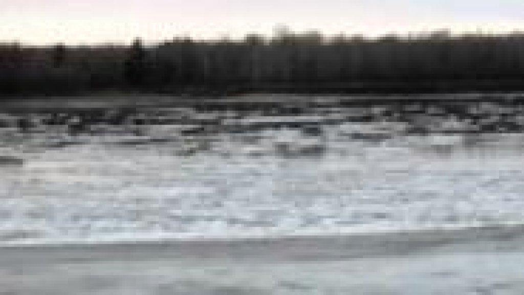 осенний ледоход 30.11.2013