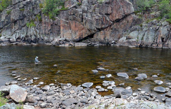 Харловка, Waterfall pool.